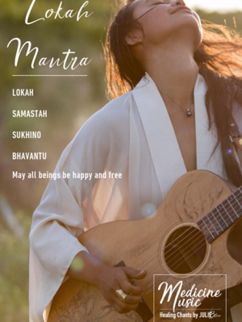 Lokah Mantra - Art card