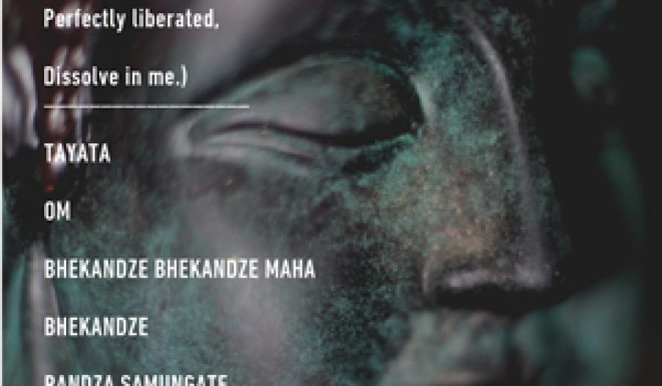 Medicine Buddha - Art card